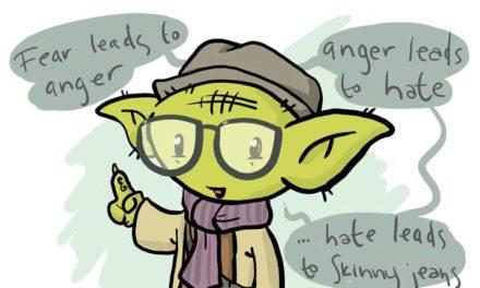 252 – Hipster Yoda