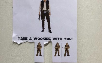 213 – Everywhere you go, always take the wookie with you