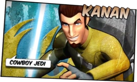 90 – Straight outta Rebels – Kanan Jarrus