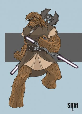 77 – Wookiee jedi scounderl pilot gangster freedom fighter