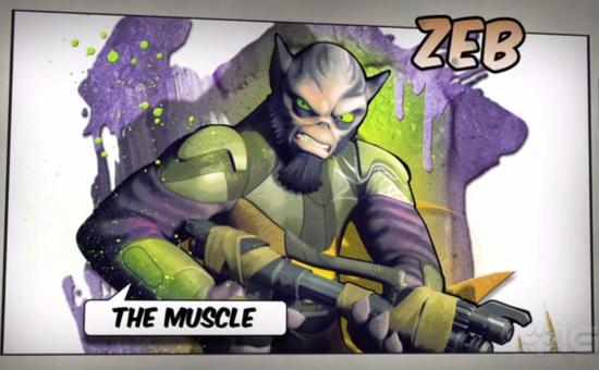 72 – Straight outta Rebels – Zeb