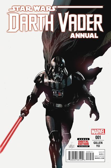 RECENZJA KOMIKSU - Darth Vader Annual 001