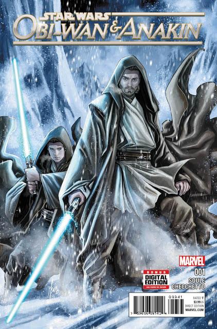 RECENZJA KOMIKSU - Obi-Wan & Anakin 001