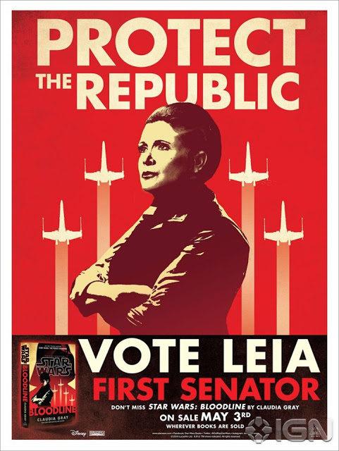 NEWS – Leia zdrajczynią!