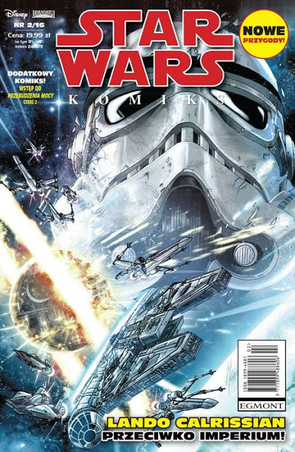 RECENZJA KOMIKSU - Star Wars Komiks 2/2016