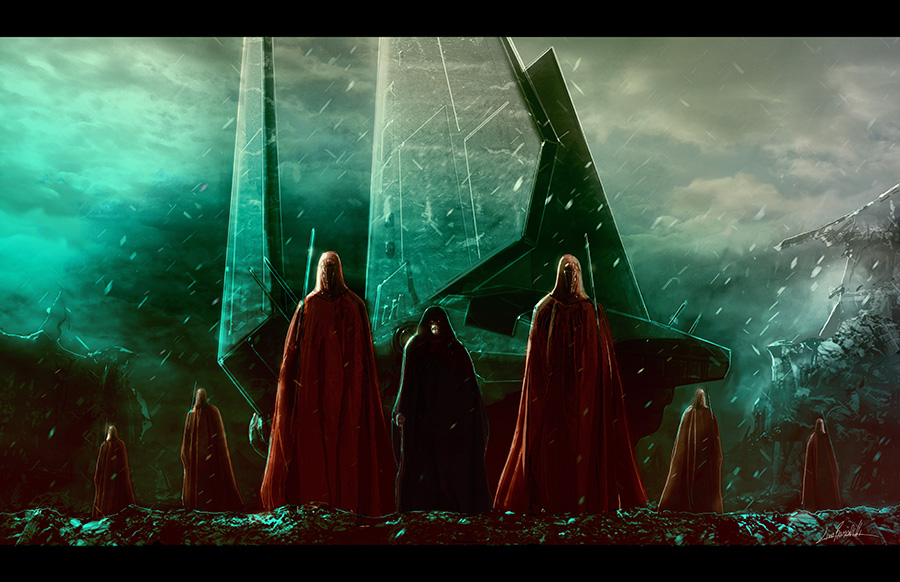 palpatine_and_royal_guards_by_livio27-d6a786s