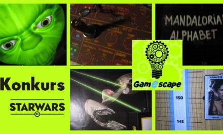 KONKURS – Escape Room od Gamescape