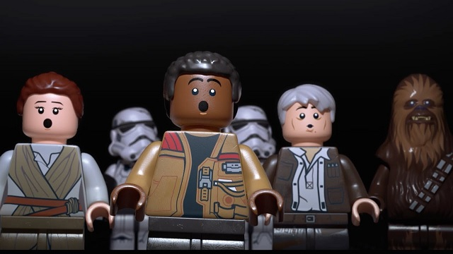 Gameplay z LEGO Star Wars: The Force Awakens