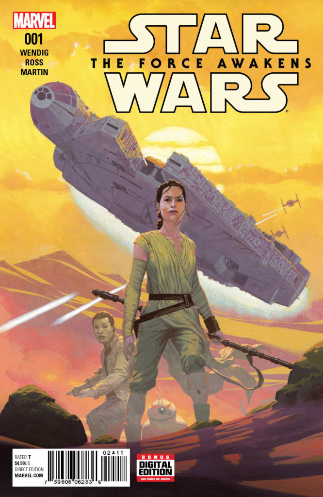 RECENZJA KOMIKSU - Star Wars: The Force Awakens 001