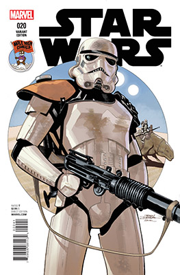 Star Wars 020 - alternatywna okładka dla High Mile Comics