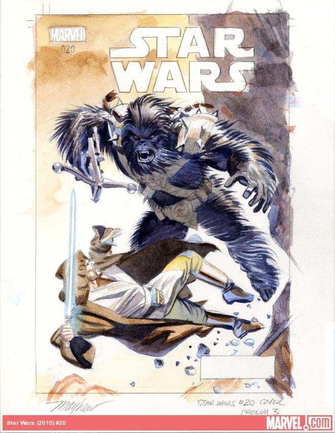 NEWS Jedi Vs Wookiee Starcie Tytan U00f3w W Nowym Komiksie