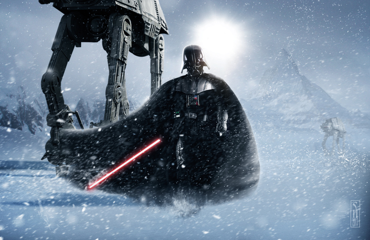 Vader+on+Hoth