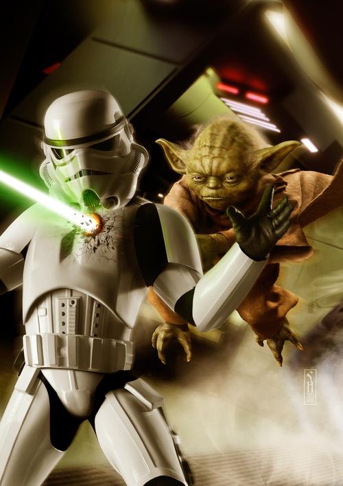 Yoda+the+Avenger+print