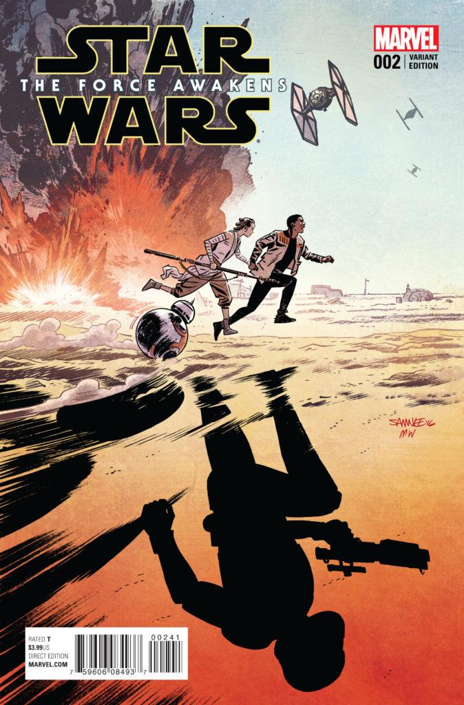 RECENZJA KOMIKSU - Star Wars: The Force Awakens 002
