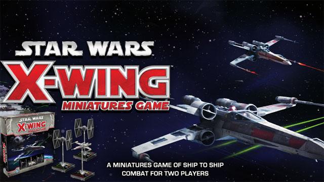 PRZEGLĄD GIER – Star Wars X-wing Miniatures