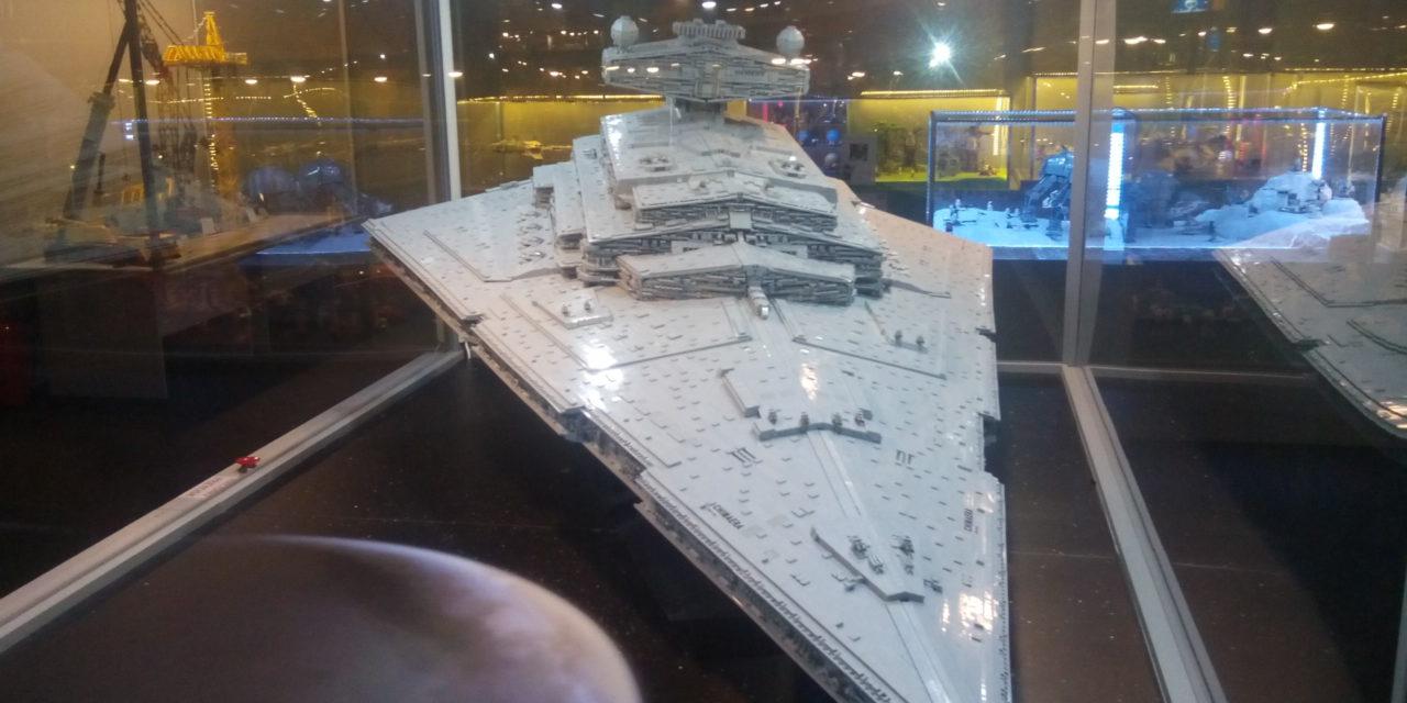 Wystawa budowli LEGO w Łodzi