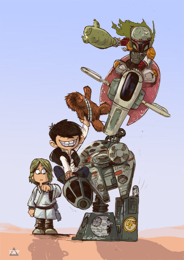 may_the_4th_be_with_you_by_gaberoseart-d8s81r0