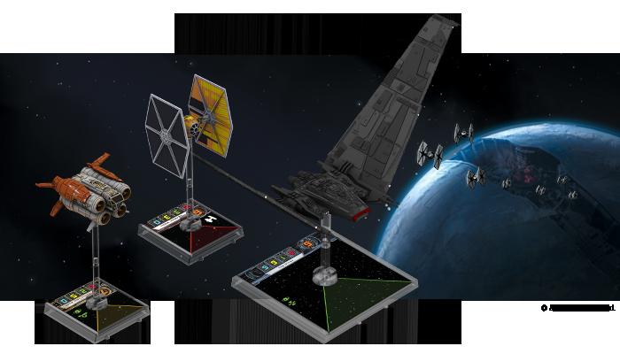 Fala X do X-winga, V do Armady i dodatki do Imperium Atakuje