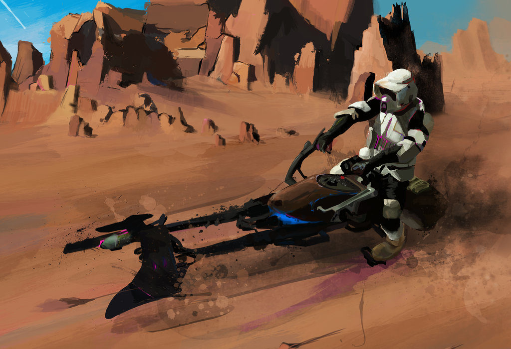 tatooine_speeder_bike_by_j2artist-d9ci6xc