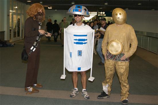 Każual Cosplay Star Wars