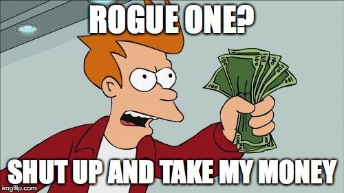 Wielu z nas dokładnie tak zareaguje na premierę Rogue One