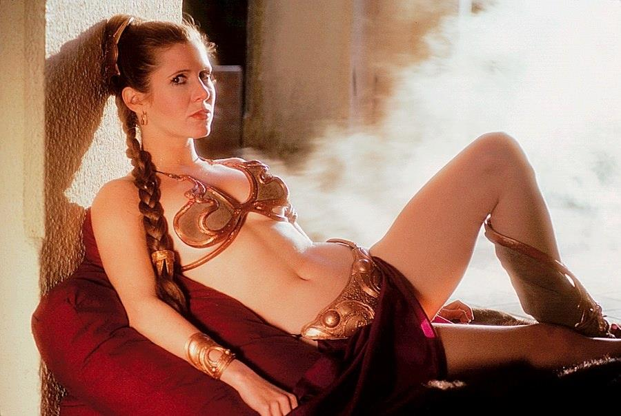 carrie-fisher-gold-bikini-pictures