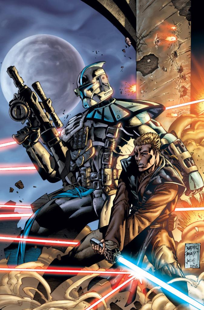 """Anakin Skywalker z Alphą na okładce """"Republic #50"""""""