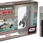 X-wing Miniatures Game ze statkami z Rogue One