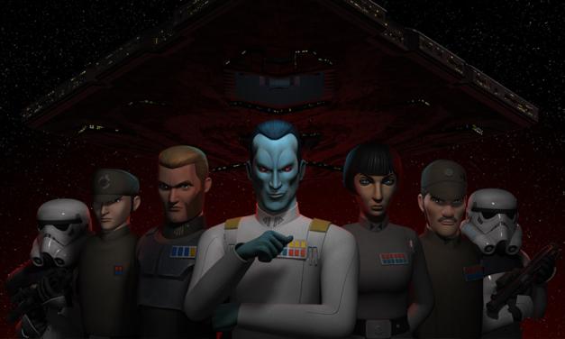 Wielki Admirał Thrawn w nowym klipie