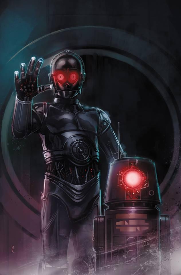 "Wariant ""Droids"", autor: Rod Reis"