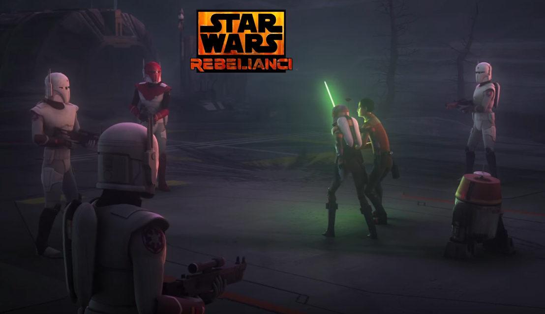 Mandalorianie i Rebelianci, czyli arcyciekawy klip z serialu