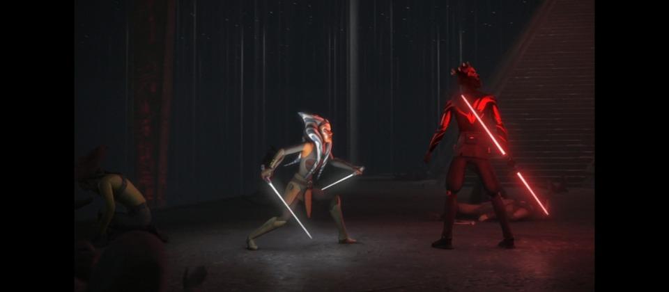Ahsoka vs Maul