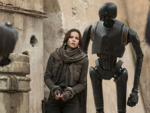 Rogue One Jyn Erso K-2SO