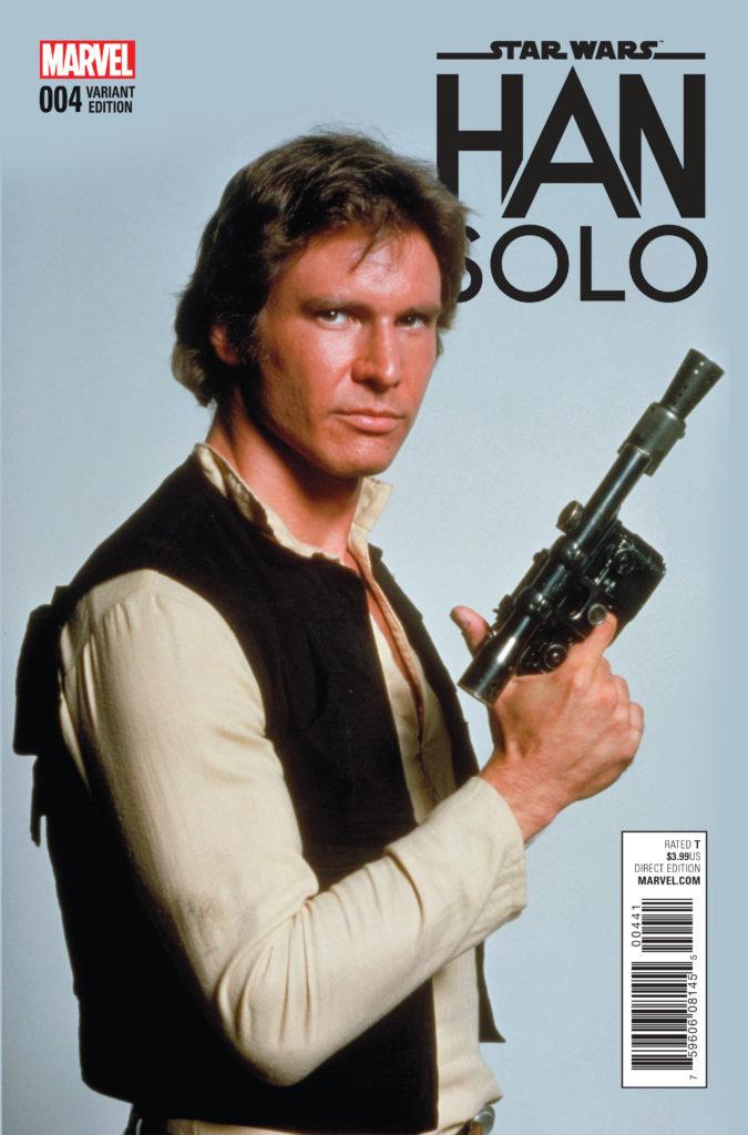 komiks Han Solo #4 wariant