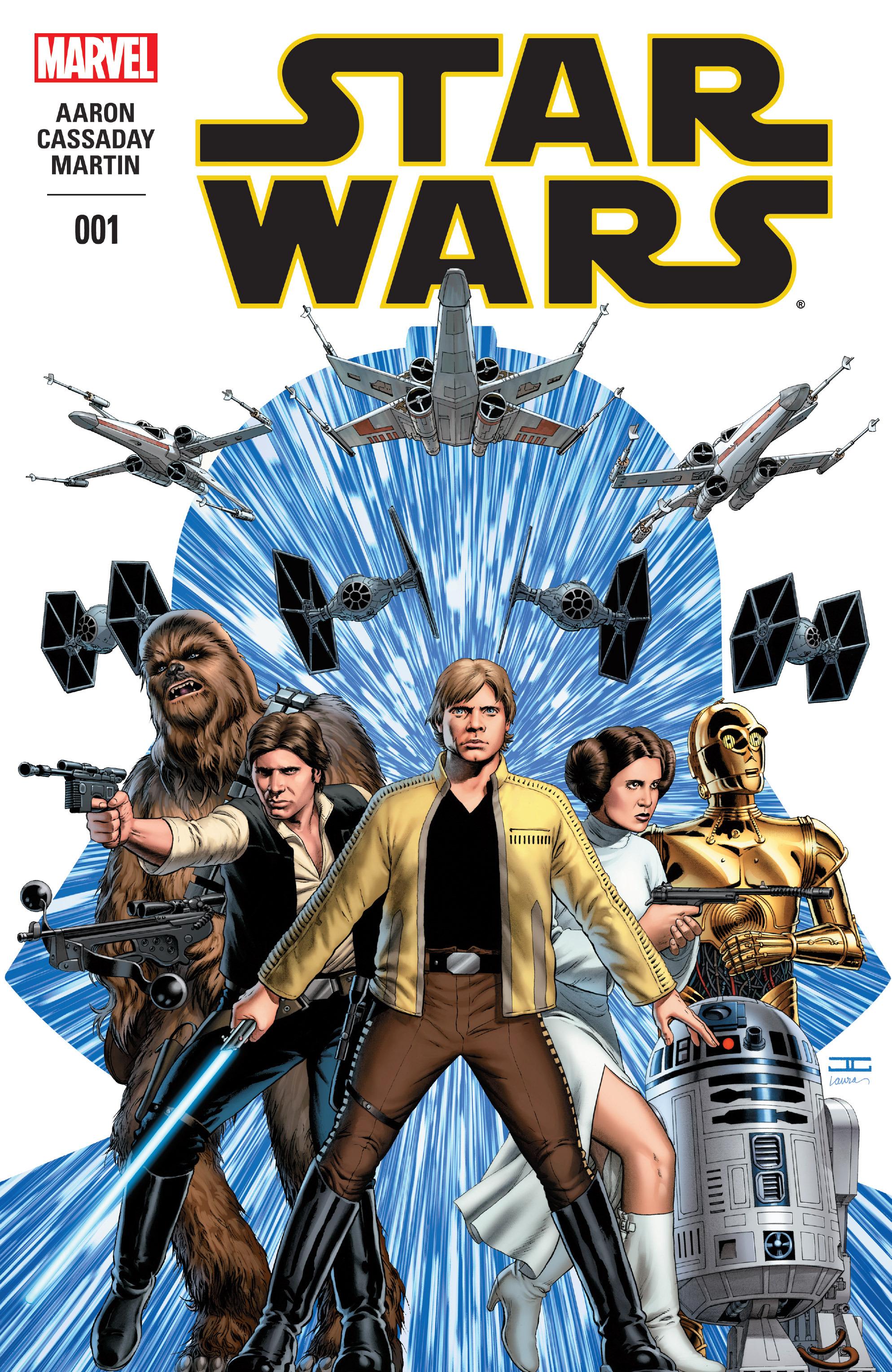 komiksy Star Wars