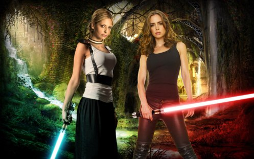 Joss Whedon Star Wars Buffy mashup