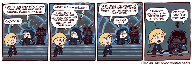 star_wars_funnies__palpatine_by Kevin Bolk