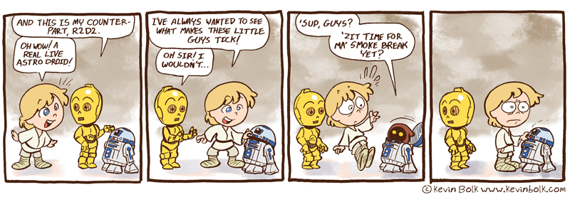 star_wars_funnies__r2d2_by Kevin Bolk
