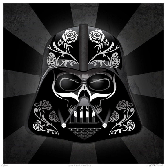vamers-artistry-beautiful-day-of-the-dead-styled-star-wars-posters-by-john-karpinsky-darth-vader