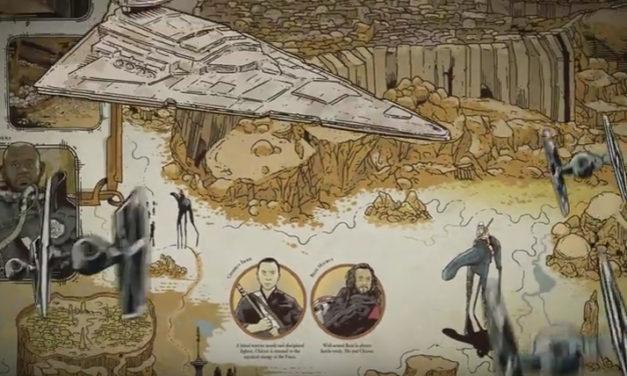 Atlas Galaktyczny zdradza nowe szczegóły z Rogue One