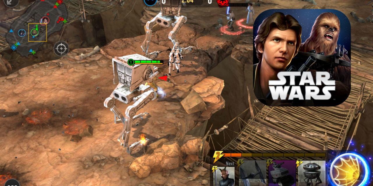 Już jest! Nowa gra Star Wars: Battlegrounds