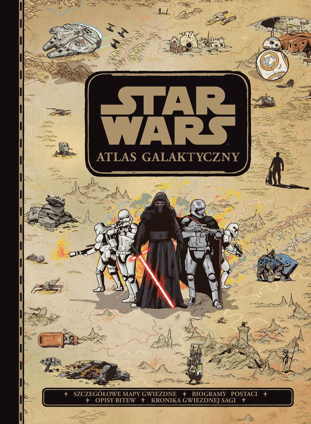 Star Wars Atlas galaktyczny