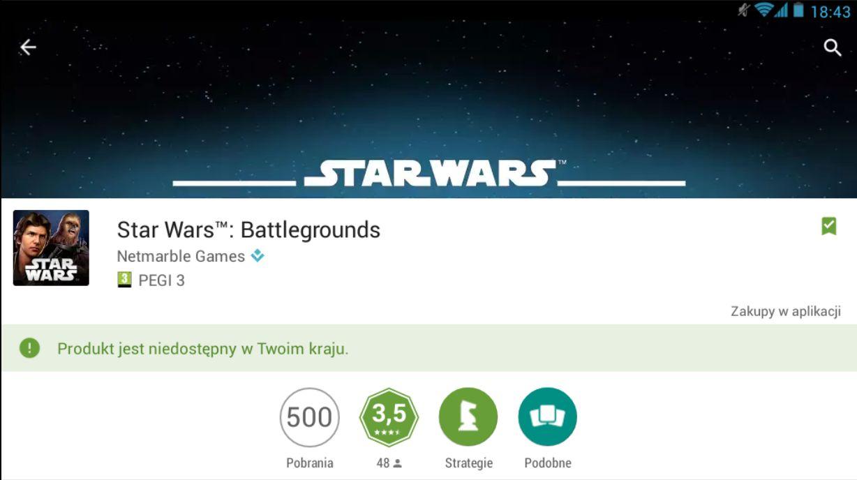 recenzja Star Wars Battlegrounds