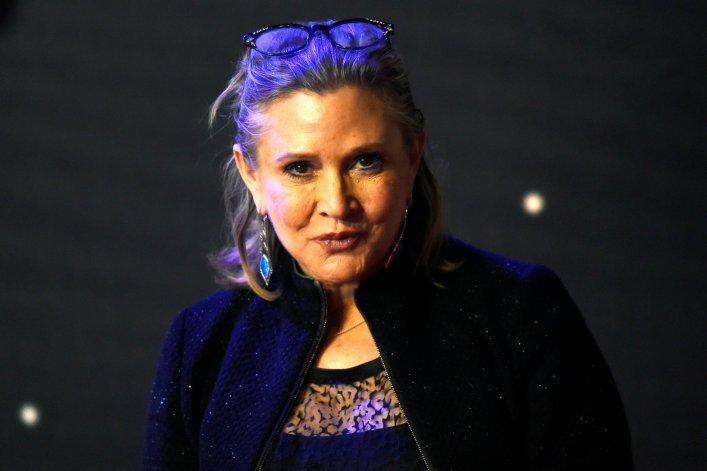 PILNE! Carrie Fisher miała rozległy zawał serca! AKTUALIZACJA