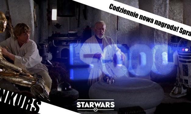 """KONKURS – Świętujemy """"5000"""" starwars.pl"""