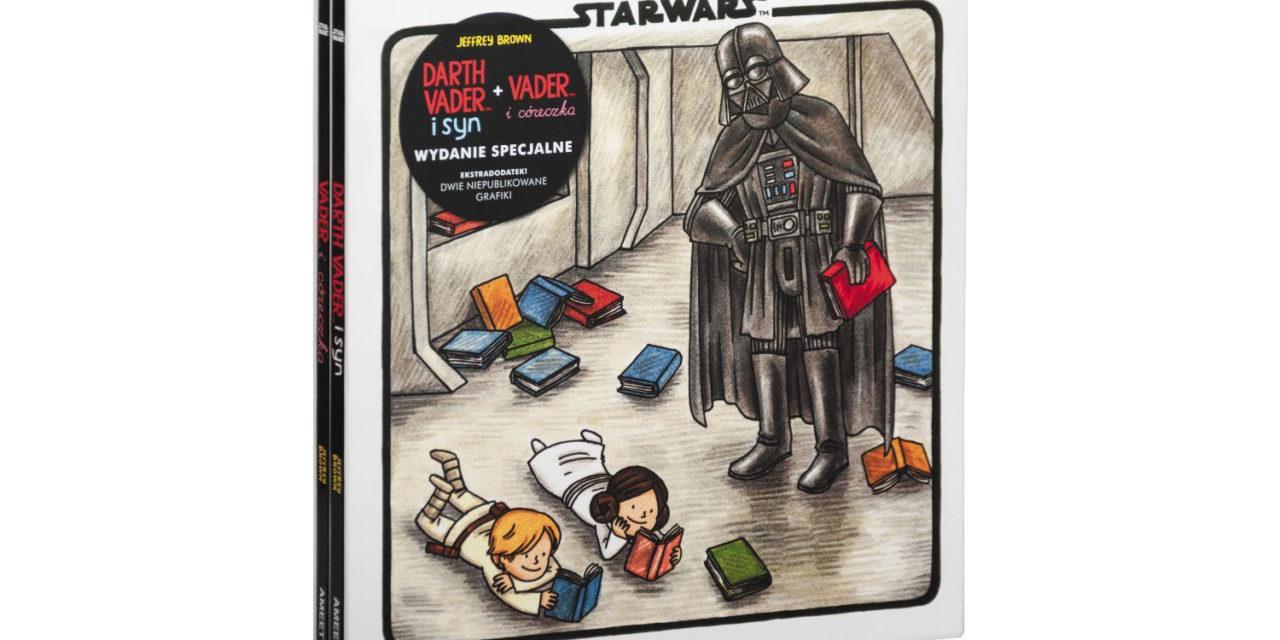 RECENZJA KSIĄŻECZEK – Darth Vader i syn oraz Vader i córeczka