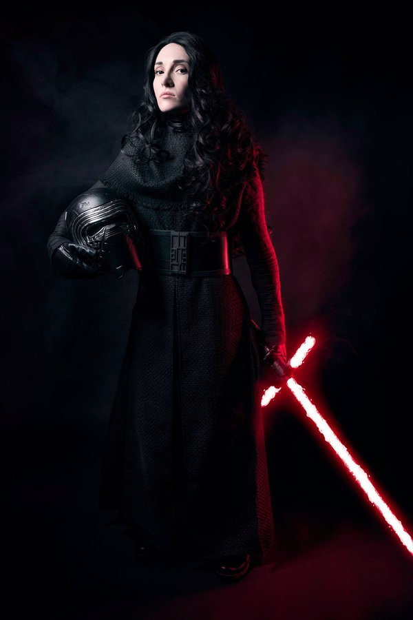 Female Kylo Ren - starwars.pl
