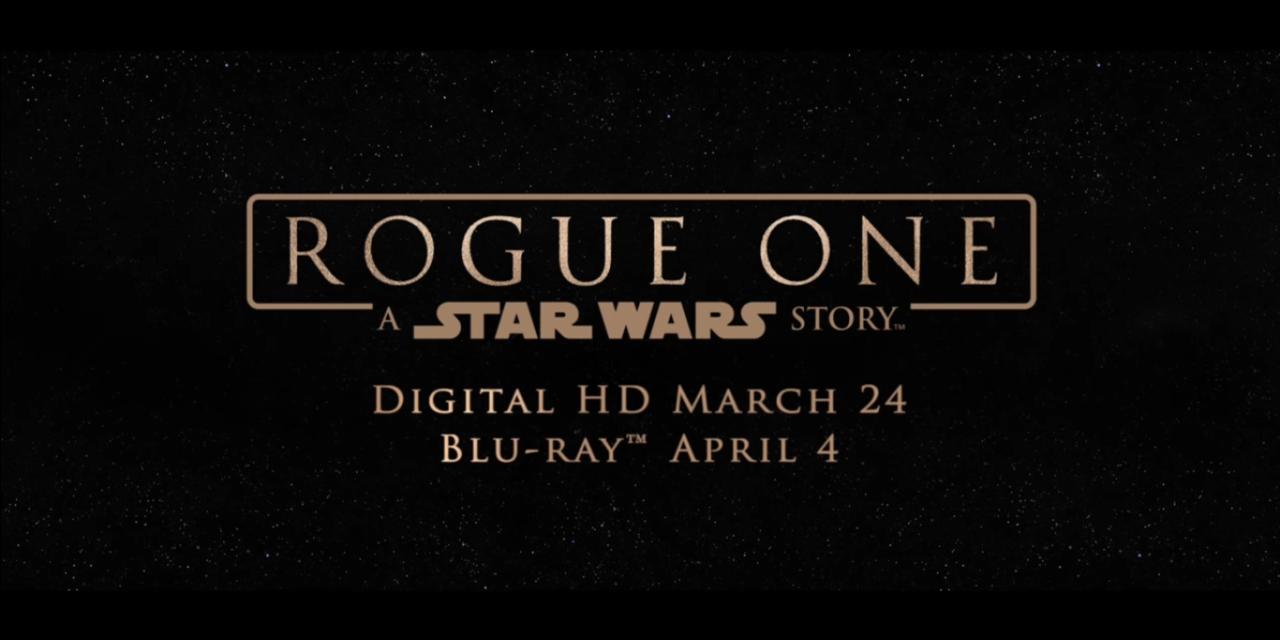 Łotr 1 na DVD i Blu-ray już w kwietniu !