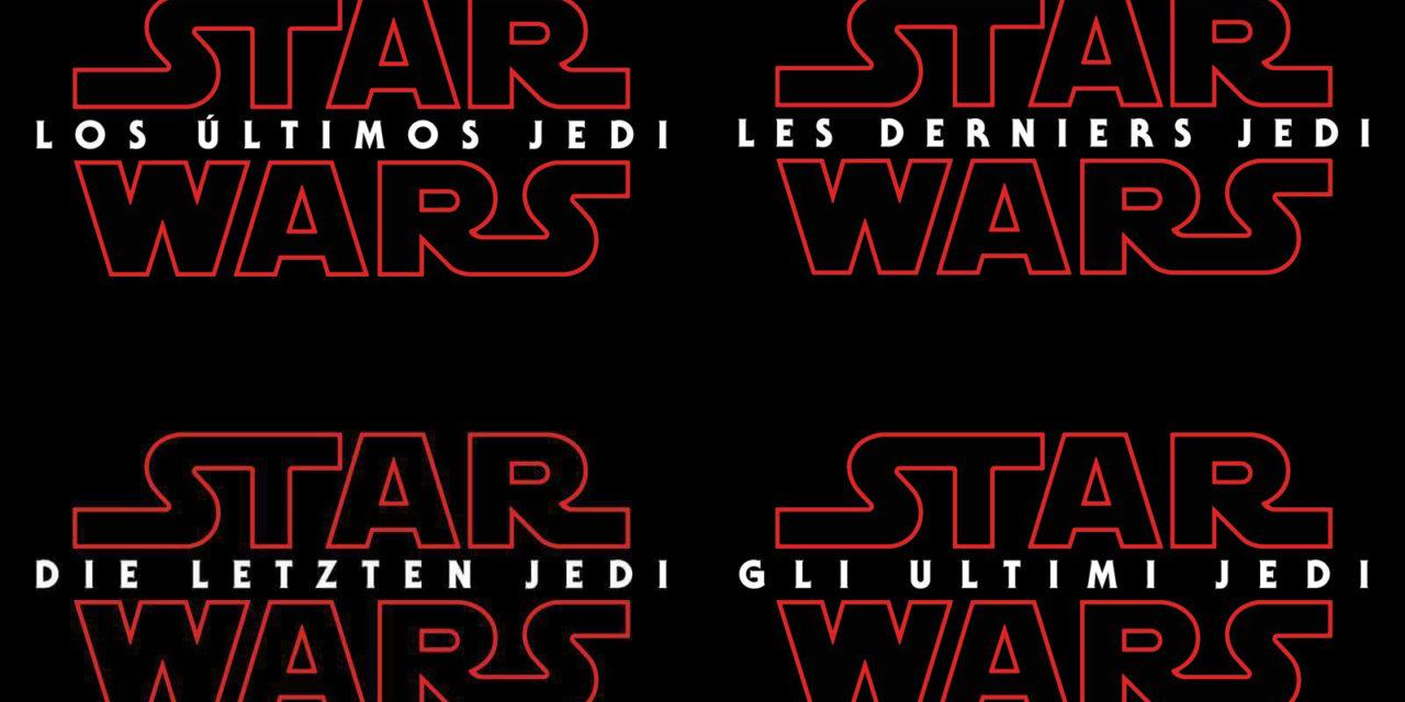 Koniec spekulacji na temat tytułu The Last Jedi