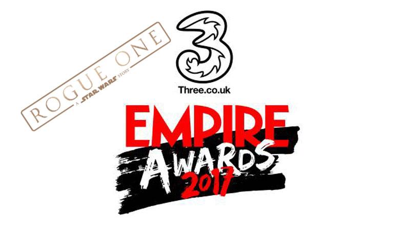 Trzy nagrody Three Empire Awards dla Rogue One
